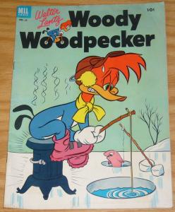 Walter Lantz Woody Woodpecker #16 FN+ december-january 1953 ice fishing dell