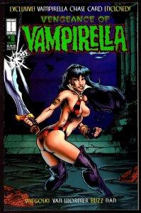 Vengeance of Vampirella #11 with Card ( 1995, Harris)  9.2 NM-