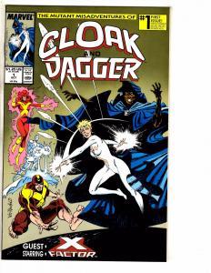 10 Marvel Comics Cloak & Dagger 1 5 10 Darkman 2 3 Dreadstar 4 Head 1 +MORE J255
