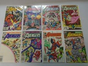 Avengers lot 20 different from #226-249 avg 7.0 FN VF (1982-84 1st Series)