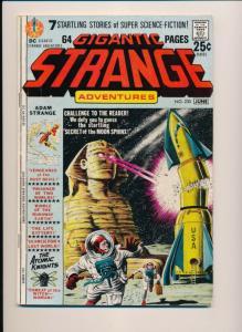 Gigantic STRANGE ADVENTURES #230 DC Comics 1971 VG+ (PF401)