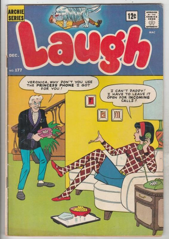 Laugh, Archie #177 (Dec-65) FN- Mid-Grade Archie