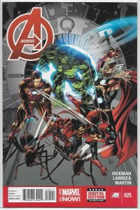 Avengers (vol. 5, 2013) # 25 VF/NM (All-New Marvel Now) Hickman/Larroca