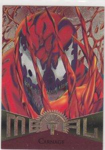 1995 Fleer Marvel Metal CARNAGE #71  Card