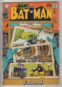 Batman #218 (Feb-70) FN Mid-Grade Batman