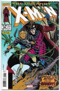 Uncanny X-Men #266 Facsimile Edition | Reprints 1st Gambit (Marvel, 2020) NM