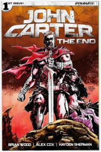 John Carter The End #1 Cvr D (Dynamite, 2017) NM