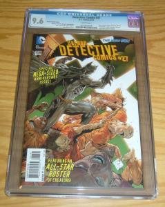 Detective Comics #27 CGC 9.6 tony daniel variant - dc new 52 - batman 2014
