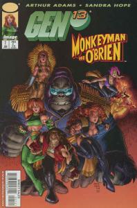 Gen13/Monkeyman & O'Brien #1 VF/NM; Image | save on shipping - details inside