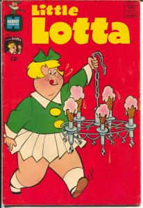 Little Lotta #78 1965-Harvey-ice cream cone cover-Richie Rich-Little Dot-VG