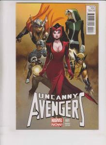 Uncanny Avengers #1 VF/NM oliver coipel variant 1:100 scarlet witch 2012 marvel