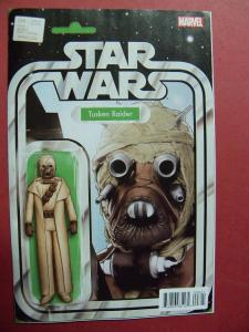 STAR WARS #008 ACTION FIGURE VARIANT  COVER NM 9.4 MARVEL COMICS 2015 SERIES
