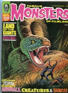 Famous Monster of Filmland 55 VG+