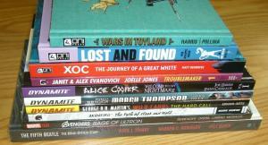 Wholesale lot of (10) HCs - marvel avengers alice cooper +more (value: $242.90)