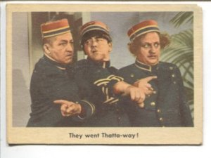 Three Stooges Trading Card #5 1959-Fleer