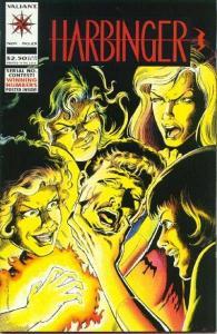 Harbinger (1992 series) #23, VF (Stock photo)