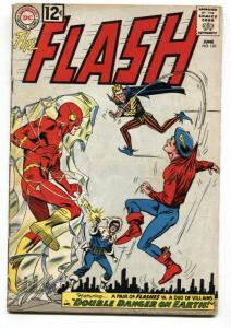 THE FLASH  #129-1962-GOLDEN AGE FLASH COVER-Trickster VG+