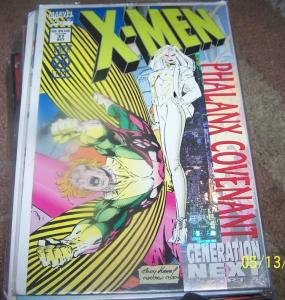 X MEN  # 37  1994 MARVEL phalanx convent pt 4  generation  next