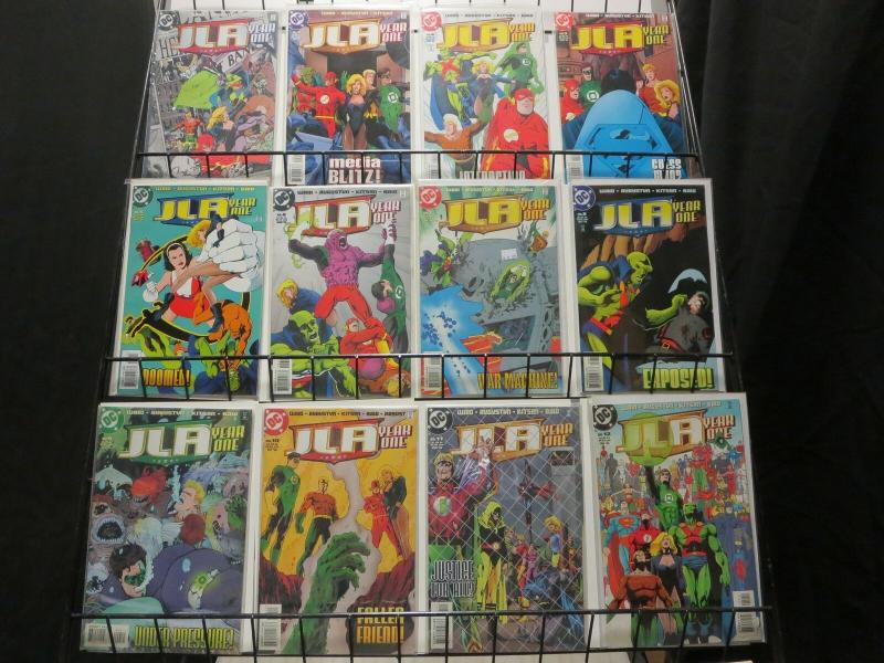 JLA YEAR ONE (1998 DC) 1-12  the complete series!