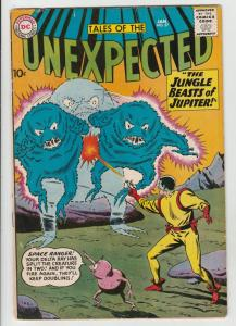 Tales of the Unexpected #57 (Jan-61) FN/VF Mid-High-Grade Space Ranger, Cyrl