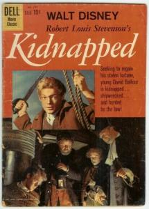 KIDNAPPED (1960 GOLD KEY) F.C.1101 G- PHOTOCOVER COMICS BOOK