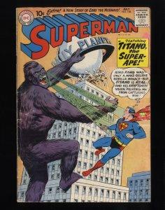 Superman #138 GD 2.0