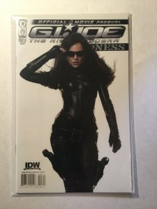 G.I. Joe Movie Prequel-Baroness 3 Near Mint Nm Cover B Idw