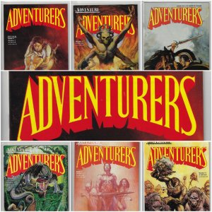 Adventurers Book II #1-7 (Adventure Publications, 1987-1988)  NM Average