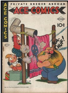 Ace Comics #81 (David McKay Publications, 1943) FN-