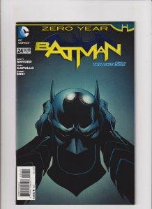 Batman #24 VF/NM 9.0 DC Comics New 52 Snyder Capullo Zero Year