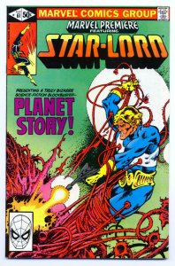 MARVEL PREMIERE #61, VF, Star-Lord, Guardians of the Galaxy, 1972 1981