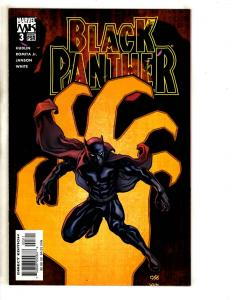 Black Panther #3 NM- Marvel Knights Comic Book 1st Print Avengers Hulk Thor CR45