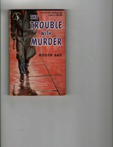 3 Books The Trouble With Murder Roughly Speaking Harlem Globetrotters JK17