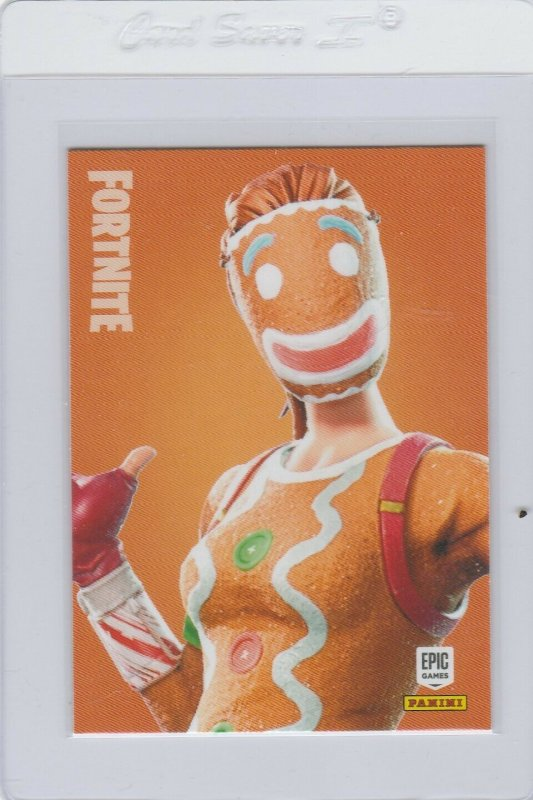 Fortnite Ginger Gunner 216 Epic Outfit Panini 2019 trading card series 1