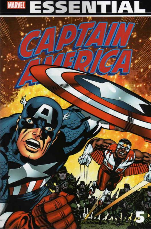 Essential Captain America, The #5 VF/NM Marvel - save on shipping - details insi