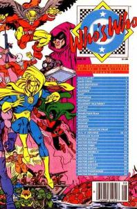 Who's Who: The Definitive Directory of the DC Universe #6, VF+ (Stock ph...