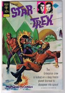 STAR TREK #27, NM-, Ice Journey, Kirk, Spock, Gold Key, 1967, more in store