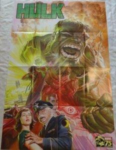 HULK Promo Poster, 24 x 36, 2014, MARVEL Bruce Banner, Unused 222