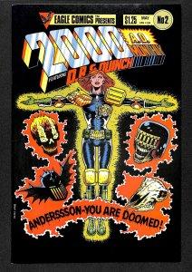 2000 AD Monthly (GB) #2 (1986)