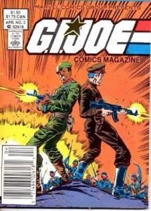 G.I. JOE-COMICS MAGAZINE #3-MARVEL