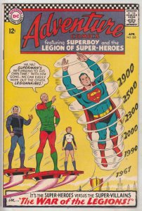 Adventure Comics #355 (Apr-67) VF/NM+ High-Grade The Adult Legion of Super-He...