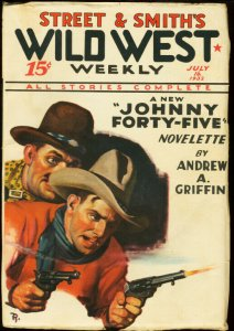 WILD WEST WEEKLY JULY 16 1932 SENOR RED MASK HIGH GRADE VF