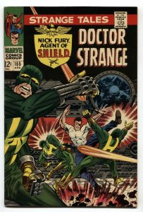 STRANGE TALES #155 comic book  DOCTOR STRANGE/NICK FURY-STERANKO VF/NM