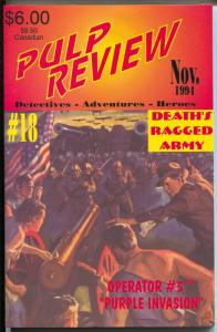 Pulp Review #18 1994-Adventure House-reprints Operator #5 pulp-VF/NM