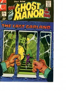 Ghost Manor 5 VG/F  Ditko Art and Cover 1972