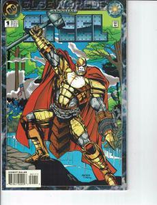 Lot Of 2 DC Comic Books Annual Steel #1 and Steel #0 Batman Superman ON2