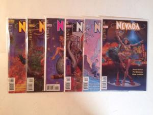 Nevada 1-6 Complete Near Mint Lot Set Run