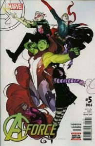 A-Force (2nd Series) #5 VF/NM; Marvel | save on shipping - details inside