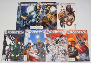 Robotech #0 & 1-6 VF/NM complete series - variant covers - wildstorm comics set