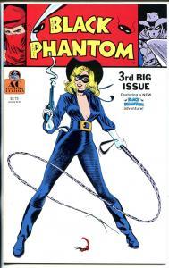 Black Phantom #3 1990-AC-new Black Phantom cover and story-Frazetta-NM